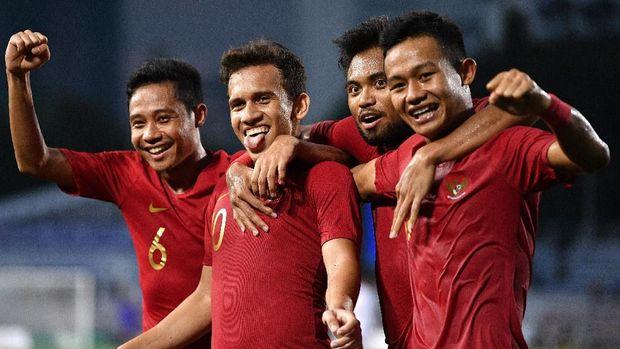 Melawan Vietnam akan jadi final ketiga bagi Indonesia U-23 di SEA Games. (ANTARA FOTO/Sigid Kurniawan/wsj)