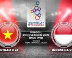Timnas U23 Indonesia vs Vietnam