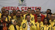Politikus Golkar, Bambang Soesatyo alias Bamsoet (tengah). (Foto: ANTARA)