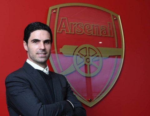 Pelatih baru Arsenal, Mikel Arteta (arsenal.com)