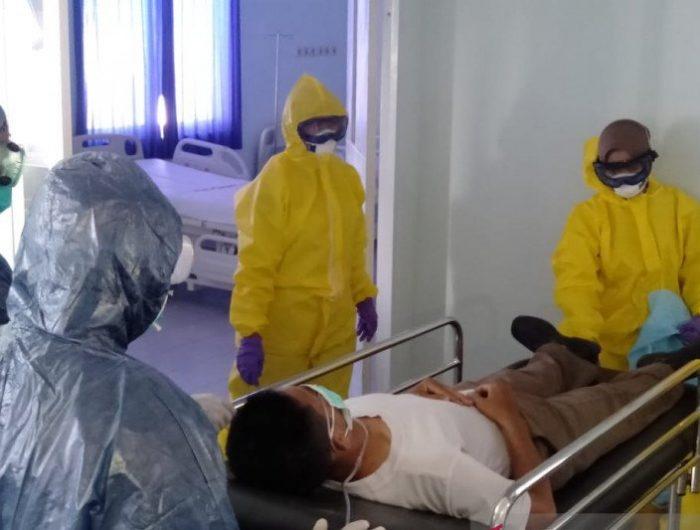 RS TNI Angkatan Laut Isolasi Pasien Terpapar Virus Corona di Makasar