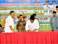 Gubernur Sulsel Dukung Perubahan Nama Kampus IAI Jadi UIA As'adiyah