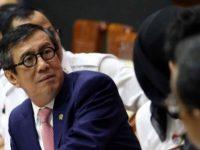 Menteri Hukum dan HAM, Yasonna H Laoly