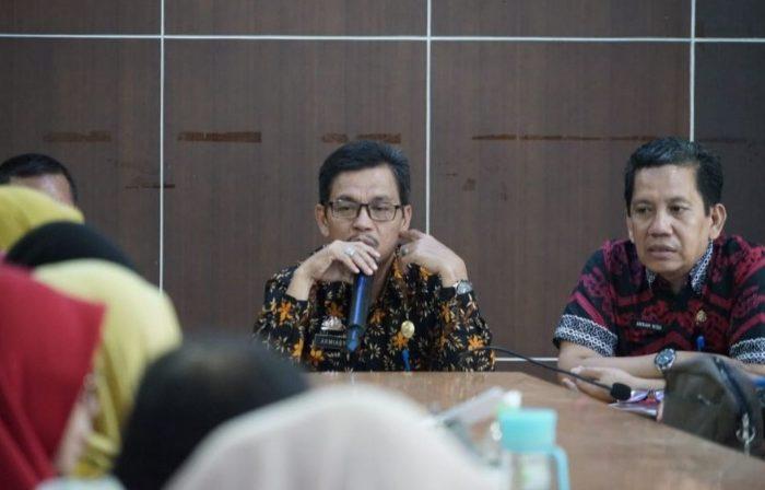 Sekda Luwu Utara memimpin Rapat Penyusunan LPPD