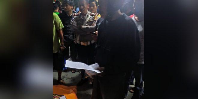 Seorang Warga Meninggal di Depan Kantor Harian Rakyat Sulsel