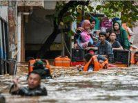 Jakarta Banjir, 4.000 Orang Lebih Masih Bertahan di Pengungsian