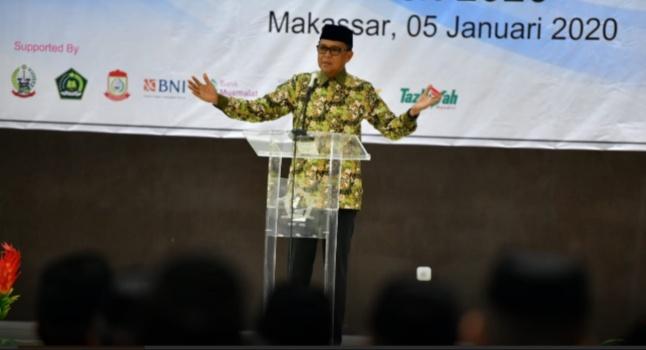 Nurdin Abdullah Ajak Kemenag se-Sulsel Lawan Politik Uang di Pilkada
