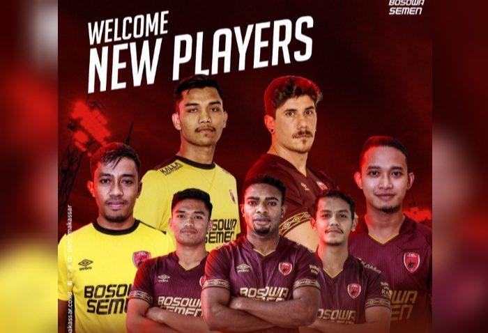 Pemain baru PSM Makassar.