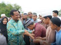 Andi Sudirman Sulaiman, mengunjungi Pondok Pesantren Darud Da'wah Wal Irsyad (DDI) Mangkoso