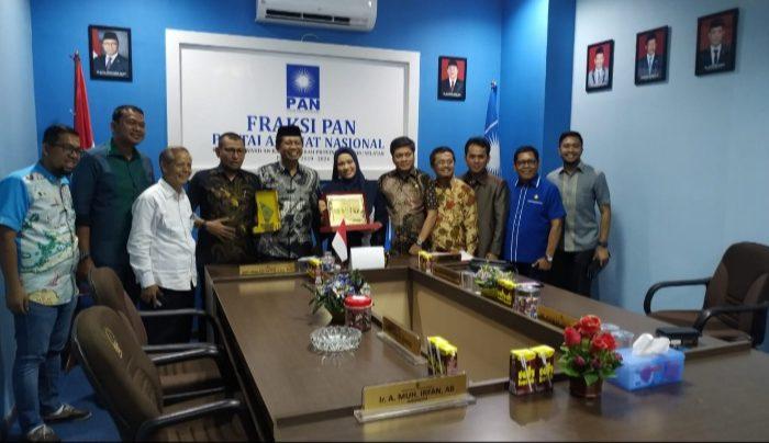 Fraksi PAN DKI Jakarta Belajar Perda di DPRD Sulsel