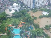 Banjir Jakarta. (Foto: Twitter)