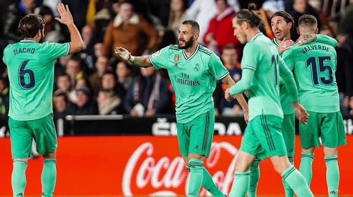 Skuat Real Madrid.