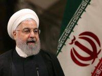 Presiden Iran Hassan Rouhani. (stringer / AFP)