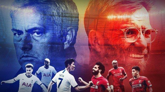 Live Streaming Tottenham Hotspur vs Liverpool Malam Ini