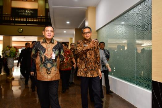 Berhasil Amankan Aset, Ketua KPK Firli Bahuri Berterima Kasih ke Sulsel
