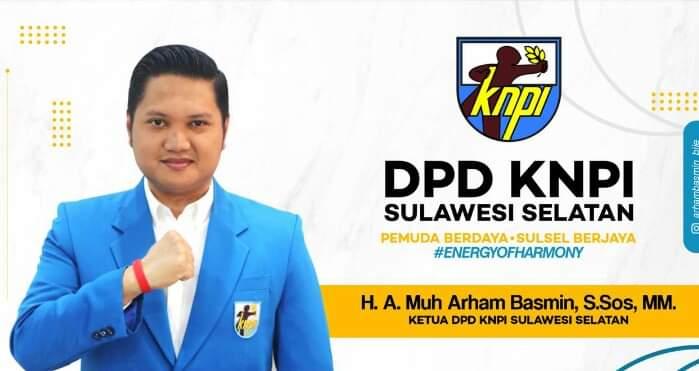 Jadwal dan Lokasi Pelantikan KNPI Sulsel Kepengurusan Arham Basmin