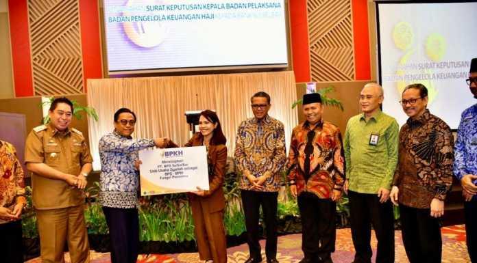 Bank Sulselbar Terima Setoran ONH dari BPKH.