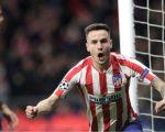 Saul Niguez menjadi penentu kemenangan Atletico Madrid atas Liverpool (c) AP Photo