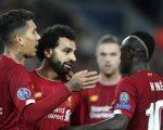 Roberto Firmino, Mohamed Salah dan Sadio Mane
