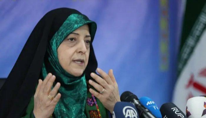 Wakil Presiden Iran untuk Urusan Wanita dan Keluarga, Masoumeh Ebtekar/ AFP