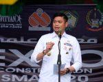 Bupati Gowa, Adnan Purichta Ichsan membuka Expo Constellation 2020 dan Seminar Remaja