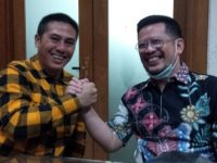 Deng Ical - None Salam Komando di Kantor DPP Hanura