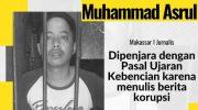 Jurnalis berita.news Muhammad Asrul.