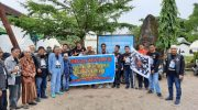 Bikers Love Muslim Makassar Gelar Touring Perdana