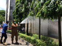 Pj Wali Kota Makassar, Iqbal Suhaeb Pimpin Aksi Cuci Kota