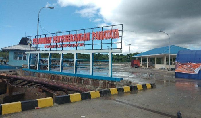 Pelebuhan Penyeberangan Pamatata, Kepulauan Selayar.