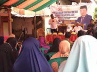 Anggota DPRD Sulsel, H Irwan Sosialisasikan Perda Wajib Belajar