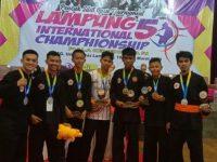 Darul Aman Gombara Borong Medali di Kejuaraan Pencak Silat Internasional Lampung