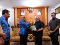 DPRD Kota Tual, Provinsi Maluku melakukan kunjungan kerja (Kunker) ke Kabupaten Gowa, Selasa (17/3/2020).