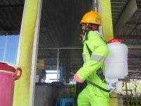 Antisipasi Covid-19, Pertamina Lakukan Penyemprotan Disinfektan di Penyalur Agen LPG