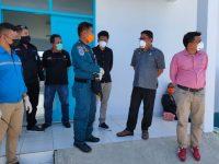 Pimpinan DPRD Sulbar melakukan kunjungan kerja di Pelabuhan Passarang Majene, Jumat (27/3/2020).