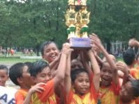 Turnamen Pra Danone Makassar, Bank Sulselbar FC U 12 Dapat Juara Umum