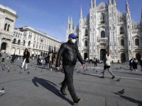 Rekor! 475 Orang Meninggal dalam Sehari di Italia Akibat Virus Corba