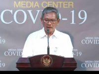 juru bicara pemerintah dalam penanganan virus Corona, Achmad Yurianto