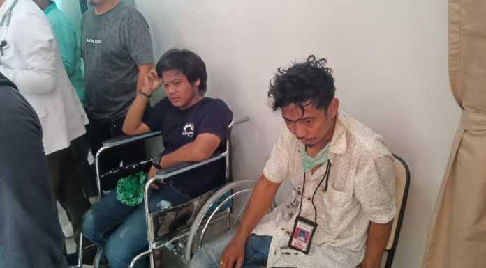 Jurnalis di Makassar korban kekerasan oknum polisi