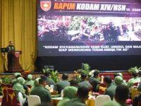 Rapat Pimpinan Kodam Hasanuddin Tahun 2020.