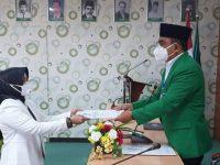Pelantikan Dr. Suharni sebagai Dekan FKM UMI. (Ist)