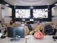 Bupati Barru dan Wabup Ikuti Pengarahan Mendagri dan KPK Melalui Video Conference