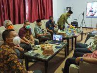 Bupati Selayar Video Conference dengan BPK RI Perwakilan Sulsel