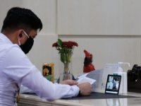 Bupati Gowa, Adnan Purichta Ichsan YL mengikuti Musyawarah Perencanaan Pembangunan Daerah dalam rangka Rencana Kerja Pembangunan Daerah (RKPD) Tahun 2021 Kabupaten Gowa berlangsung via daring atau telekonferensi.
