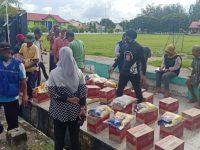 Bersama BRI, Dinsos Selayar Salurkan Bantuan untuk Warga Terdampak Covid-19