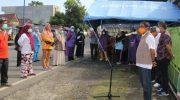 Wakil Bupati Barru, Nasruddin AM, Pimpin Pembukaan Posko Pemeriksaan di Perbatasan Parepare.