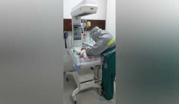 Bayi dilahirkan di Siloam Hospitals Lubuklinggau, Sumatera Selatan