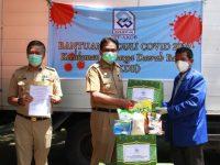 Bupati Barru Terima 350 Paket Bantuan Sembako dari Pengurus Pusat KKDB