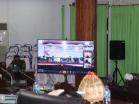 Rapat Paripurna DPRD Selayar Digelar melalui Video Conference