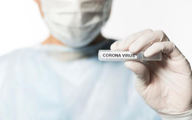 Ilustrasi virus Corona (Freepik).